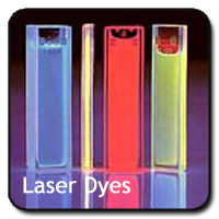 button laser dyes