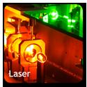 button laser 125